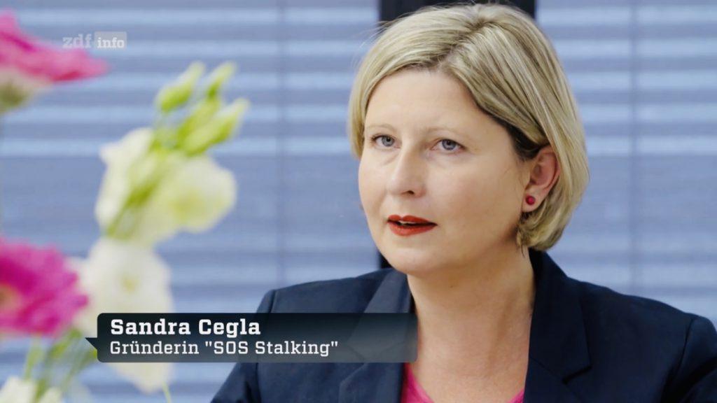 Sandra Cegla auf ZDF info